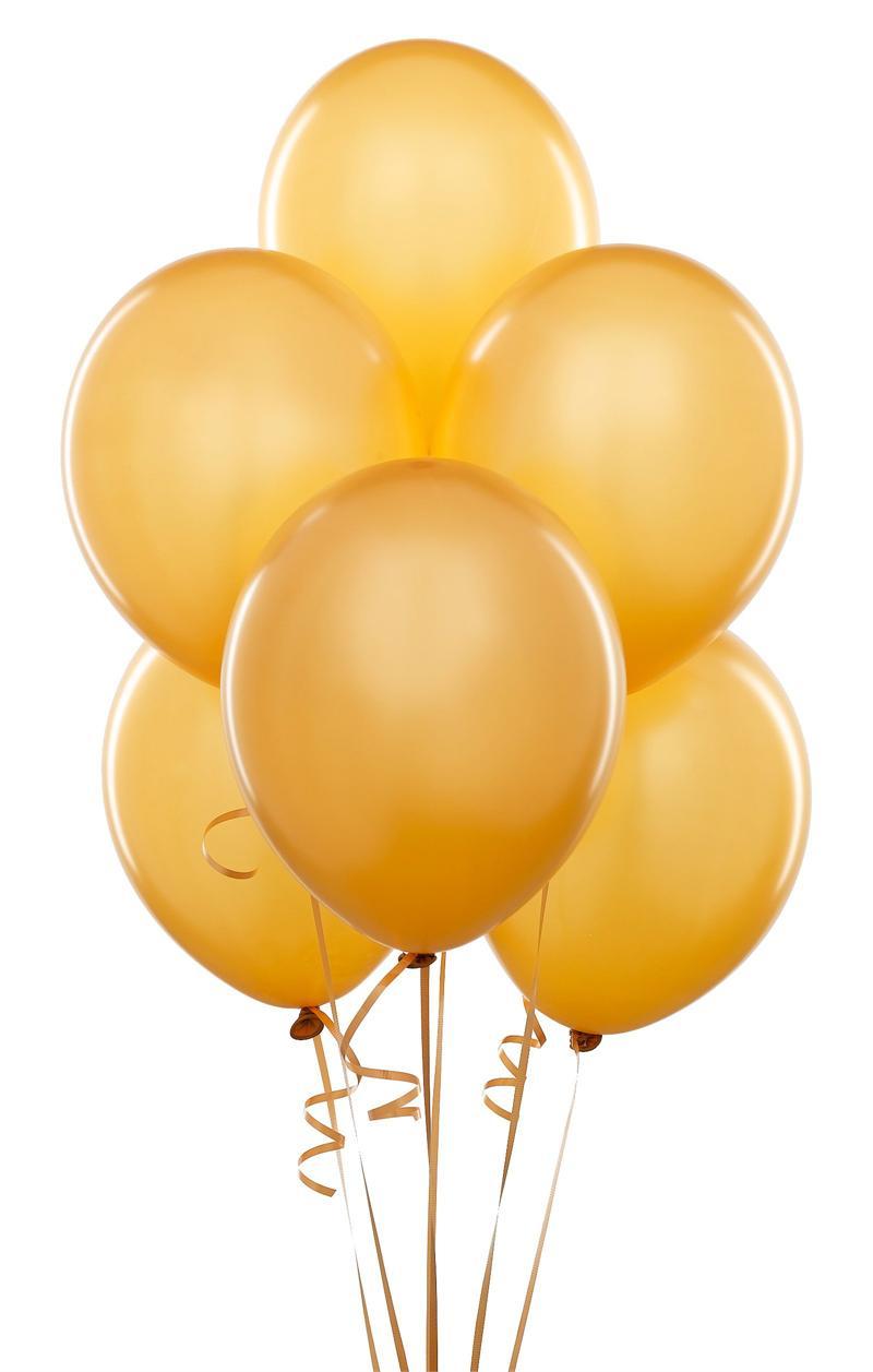 gold balloons clip art